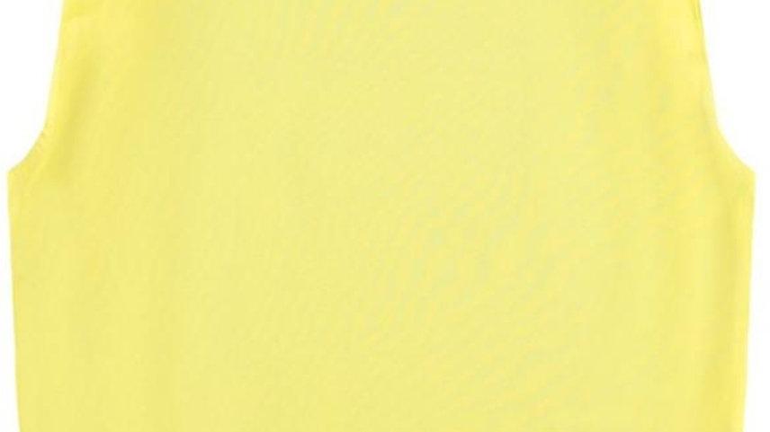 Name It Caps Top Jueniz in Lemon Verbana
