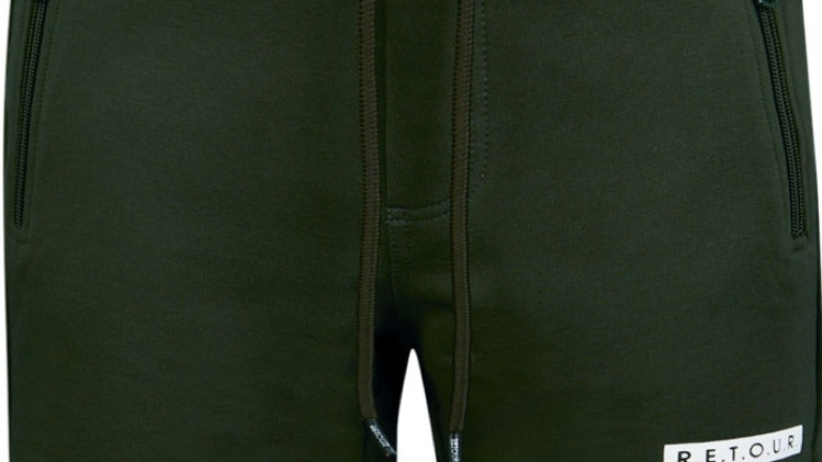 Retour Short Perry in Deep Olive