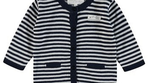 Feetje Vest streep - First Knit