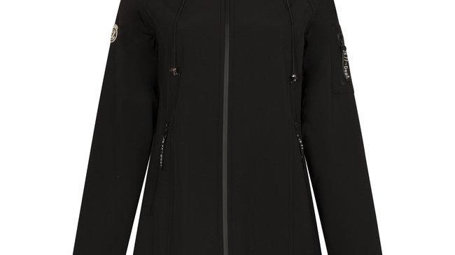 Zoso softshell coat Outdoor Black