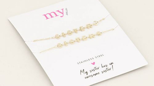 My jewellery sisters armband