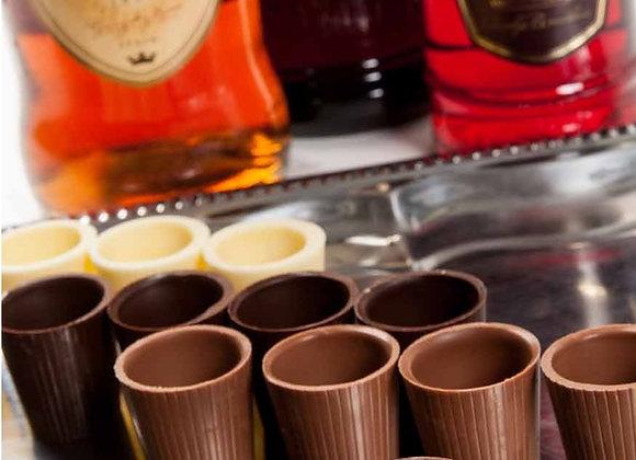 Šokoladinės taurelės