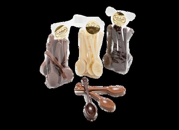 Šokoladiniai šaukšteliai