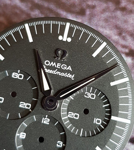 Omega Speedmaster FOIS Hour/Minute Hands c.1861 Green Lume