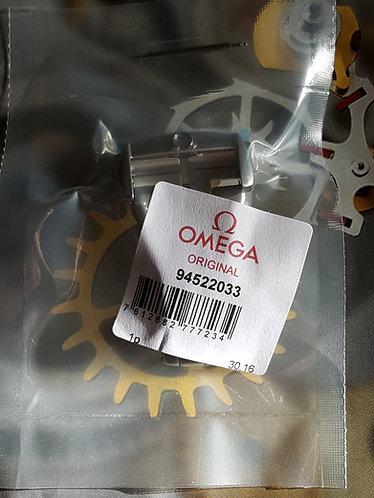 Omega Steel Deployment Clasp 20mm 94522033 Original Satin Design