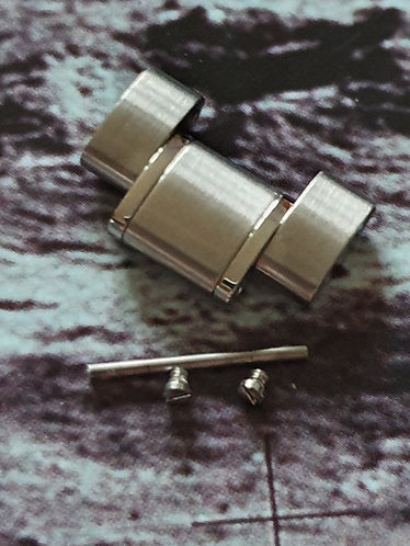 114st1957 GENUINE Omega Speedmaster 1957 1958 Size Steel Link Moon Watch