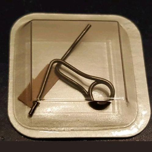OMEGA GENUINE CLASP SPRING 085ST0056 Titanium 1504-826 1523-825 1998-998 etc