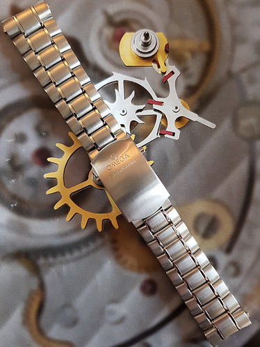 020st1564975 Omega Speedmaster 19mm 1564-975 fits FOIS CK2998 Steel Bracelet