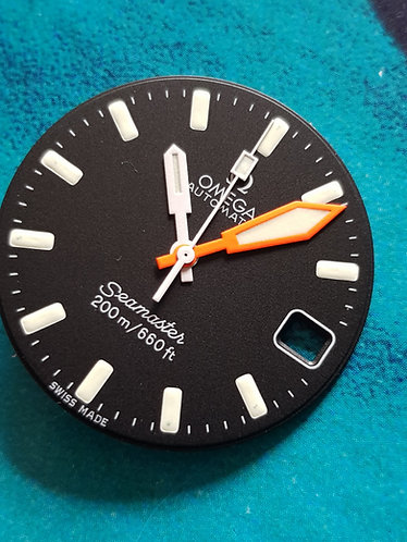 Omega Seamaster 200M SHOM c.1012 Hour/Minute Sweep Second Hand 166.0177 Orange
