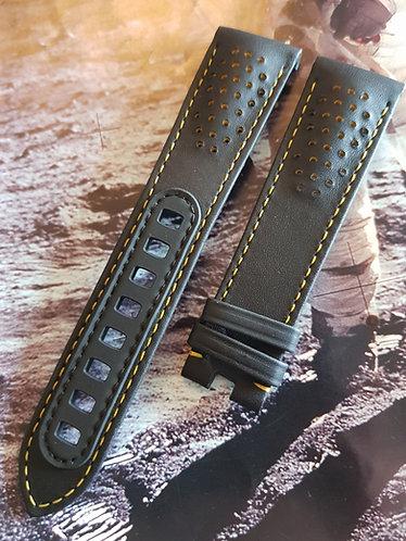 Omega Speedmaster APOLLO 8 Dark Side Of Moon 21mm CUZ010862 BLACK Leather