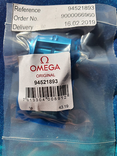 Omega Steel Deployment Clasp 18mm 94521893 Latest Satin Design