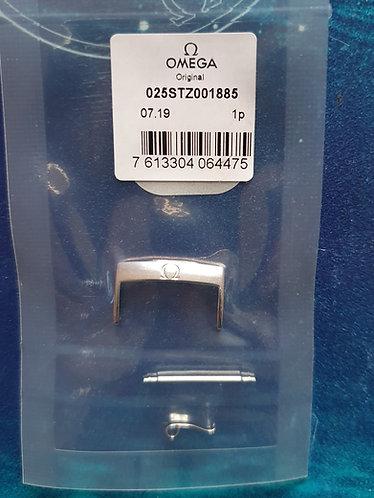 Omega Steel Pin Buckle 22mm 025stz001885 Polished