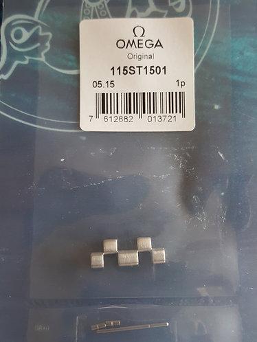115st1501 GENUINE Omega Seamaster 1501 Half Size Steel Link- 1501-823 1502-824
