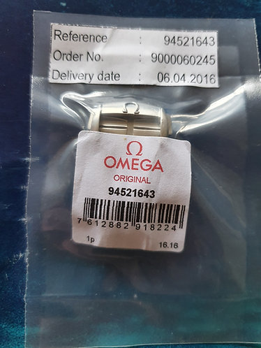 Omega Steel Deployment Clasp 16mm 94521643 Original Shorter Design Satin