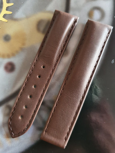 Omega Seamaster 17mm 98000156 BROWN Leather Strap