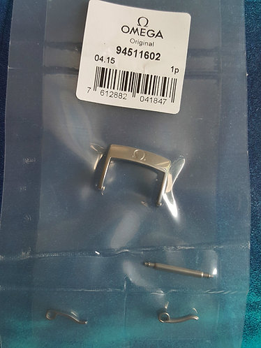 Omega Steel Pin Buckle 16mm 94511602 Polished