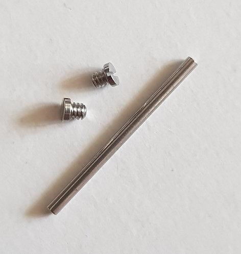 GENUINE Omega 18mm Link Pin + 2 Screws Modern Bracelet