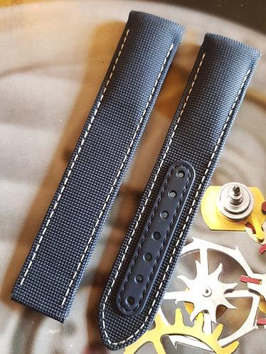 Omega Speedmaster 20mm CWZ005345 BLUE Fabric Strap