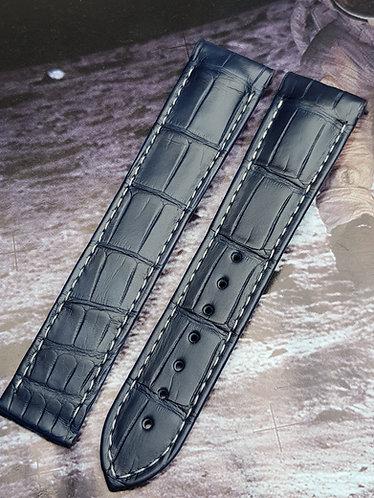Omega Speedmaster Moonphase 21mm CUZ005171 BLUE Alligator Strap