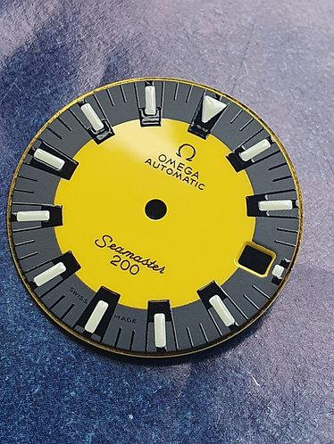 Omega Seamaster Vintage BANANA 120M Dial c.565 166.088