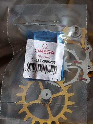 Omega Steel Deployment Clasp 18mm STZ005266 Latest Polished Short Design