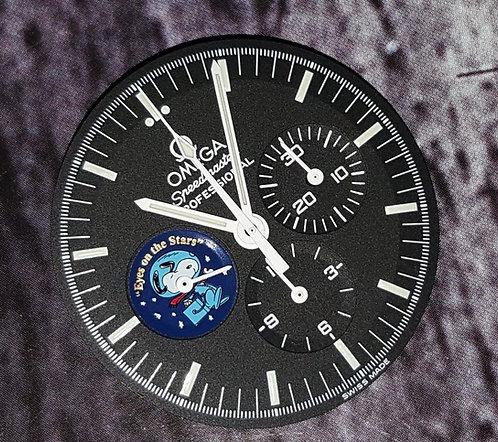 Omega Speedmaster Snoopy Eyes On The Stars Dial & Handset 3578.51.00