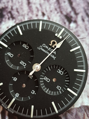 Omega White Spear Sweep Second Hand ck2998 105.002 c.321 c.861