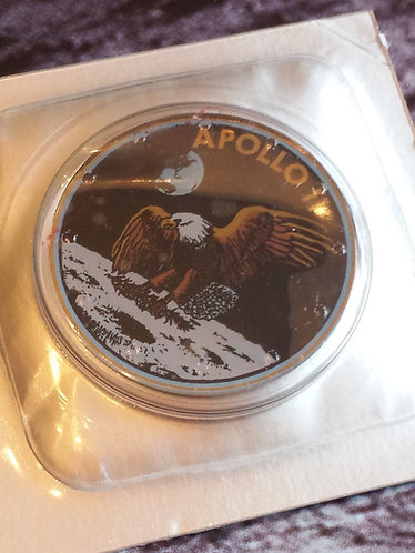 Omega Speedmaster Limited Edition Apollo 11 Case Back Crystal