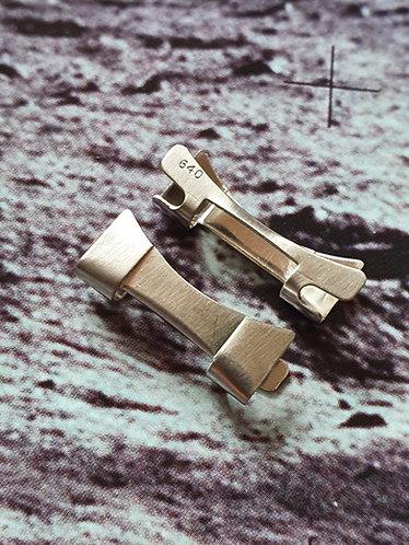 026st640 GENUINE Omega Speedmaster 20mm 640 Steel END LI