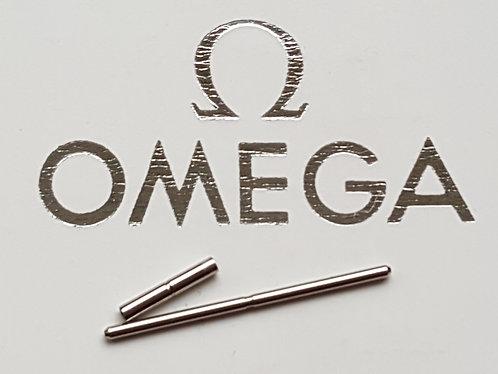 GENUINE Omega Seamaster 1503-825 1504-826 Clasp Steel Pin & Tube Set