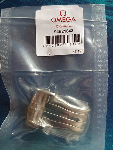 Omega Steel Deployment Clasp 18mm 94521843 Polished Original Shorter Design