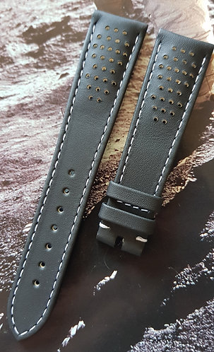 Omega Speedmaster LATEST CK2998 19mm CUZ009780 BLACK Leather Buckle Strap
