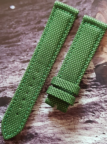 98000070 Omega Speedmaster X-33 20mm GREEN Kevlar Buckle STD Length