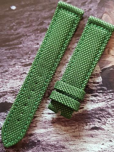 98000070L Omega Speedmaster X-33 20mm GREEN Kevlar Buckle LONG Length