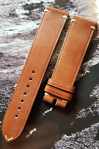Omega Speedmaster SPEEDY TUESDAY 20mm CUZ007061 BROWN Leather Buckle Strap