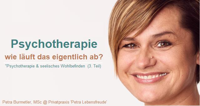 "Ihre Psychotherapeutin ""PLUS"":  Petra Burmetler, MSc"