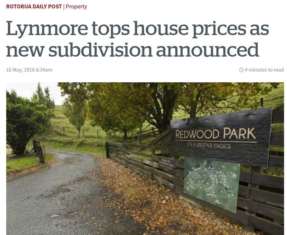 New subdivision announced.....