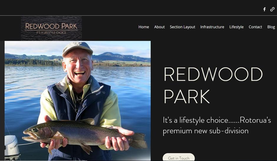 Redwood Park website live
