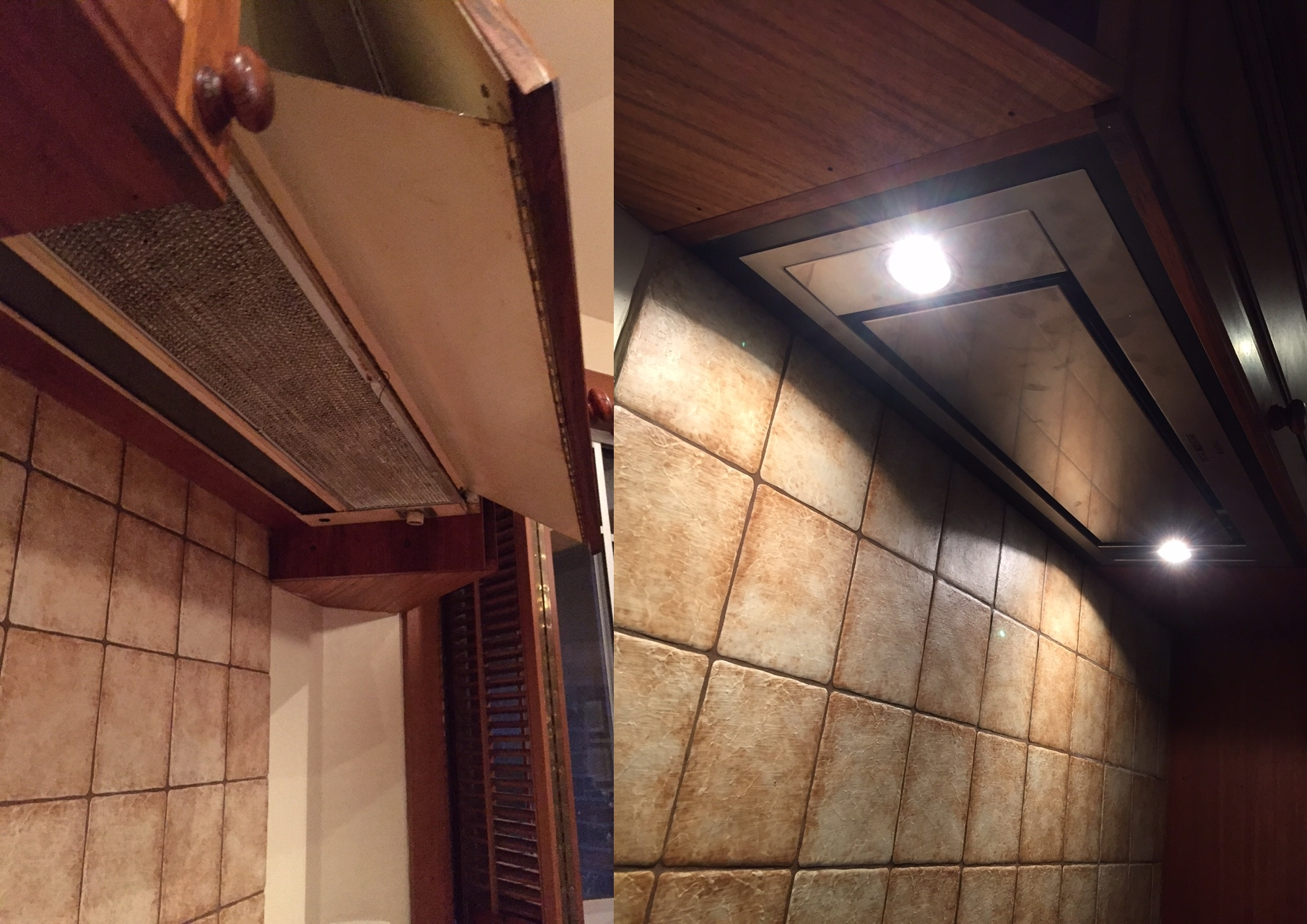 Before & After Rangehood