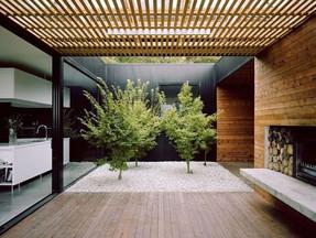 An internal garden