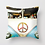 Thumbnail: Vintage VW Bus Pillow (cover only)  | 14x14 inches