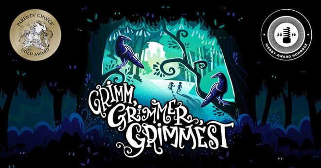 Pinna's Award Winning Podcast Grimm, Gimmer, Grimmest