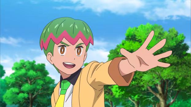 Nick as Oliver in Pokémon Journeys on Netflix
