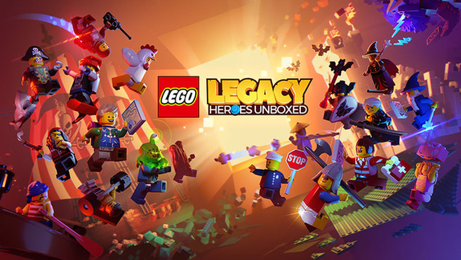 Nick as the voice of Lloyd Garmadon, Zane the Nindroid, and King Brutus in Lego Legacy Heroes Unboxed