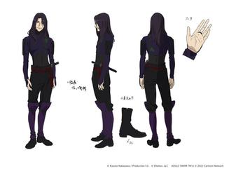 Nick as Shitan in Fena: Pirate Princess