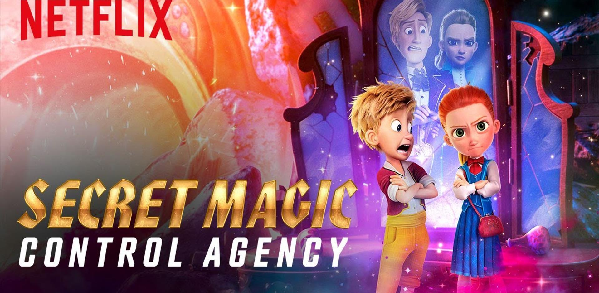 Nick as Hansel in Netflix's Secret Magic Control Agency