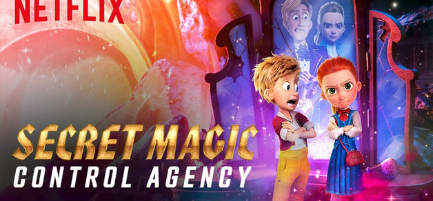 Nick as Hansel in Netflix's Secret Magic Control Agency