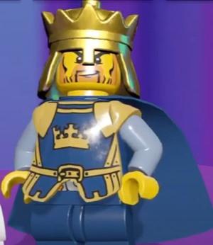 Nick as Crown King Brutus in Lego Legacy: Heroes Unboxed