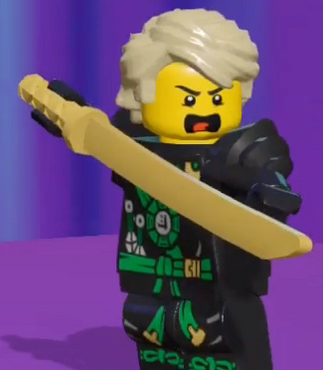Nick as the voice of Lloyd Garmadon in Lego Legacy Heroes Unboxed