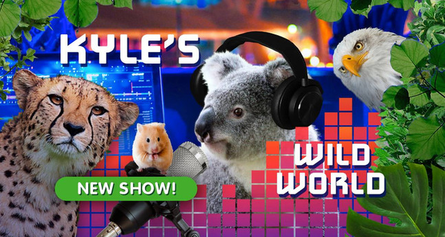 Pinna's Award Winning Podcast Kyle's Wild World